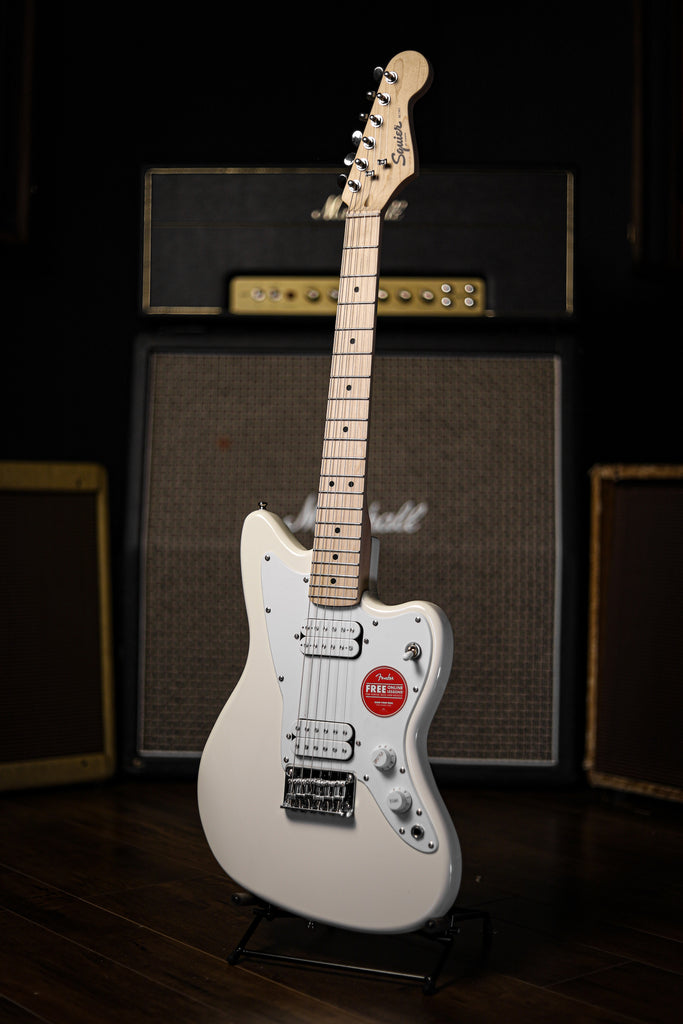 Squier Jazzmaster HH Mini Electric Guitar - Olympic White