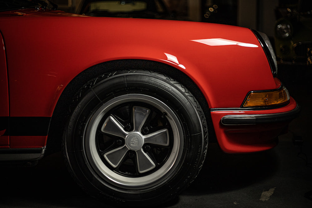 1973 Porsche 911 2.7 Carrera RS Touring - India Red