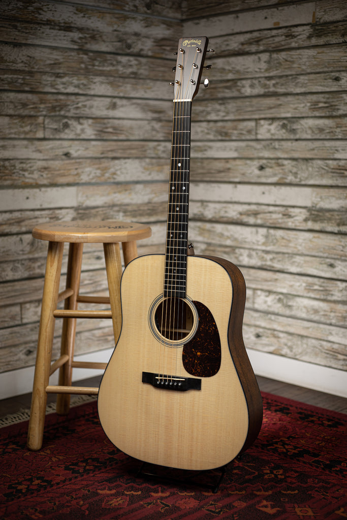 Martin D-16E Mahogany Acoustic Electric Guitar - Natural