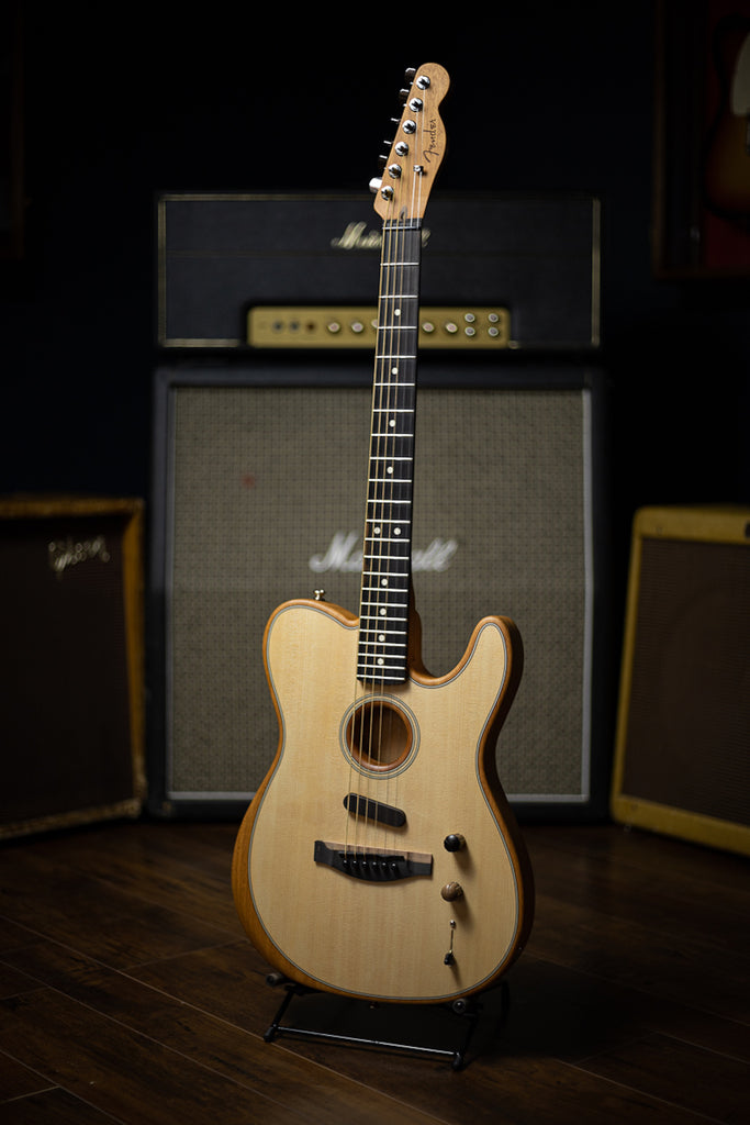 Fender Acoustasonic Telecaster Electric Guitar - Natural