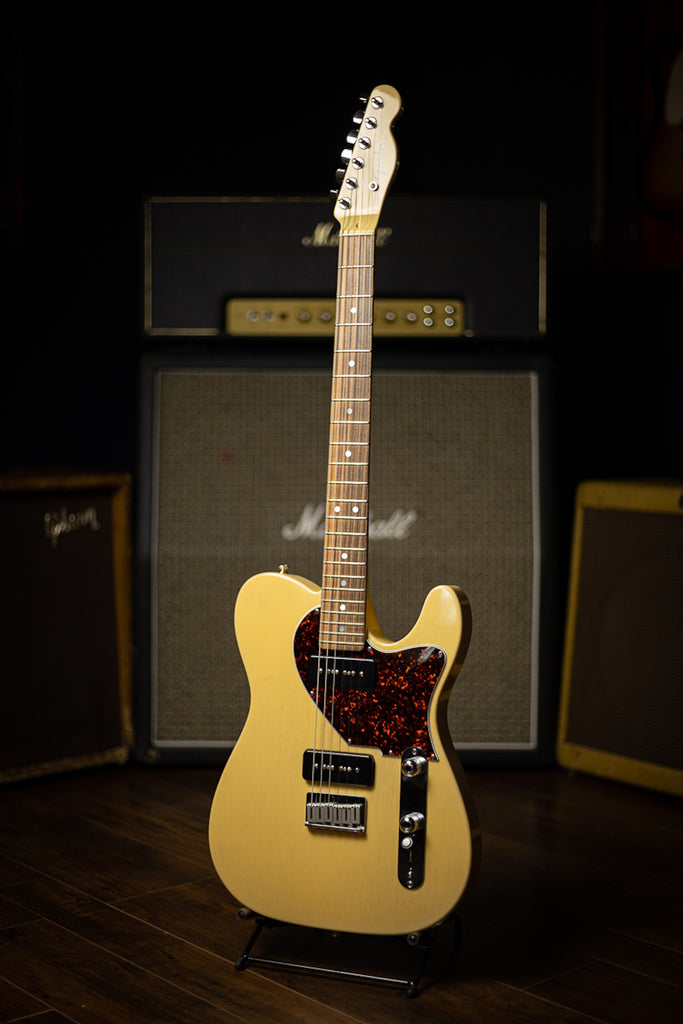 1994 Fender Custom Shop Telecaster Jr. Electric Guitar - TV Yellow