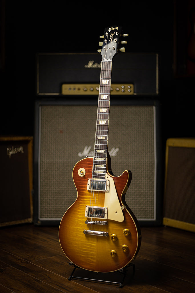 Gibson Custom Shop 60th Anniversary 1960 Les Paul Standard V1 VOS Electric Guitar - Antiquity Burst