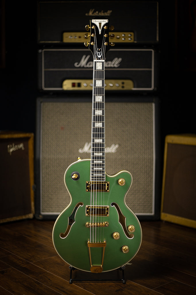 Epiphone Uptown Kat ES Collection Electric Guitar - Emerald Green Metallic