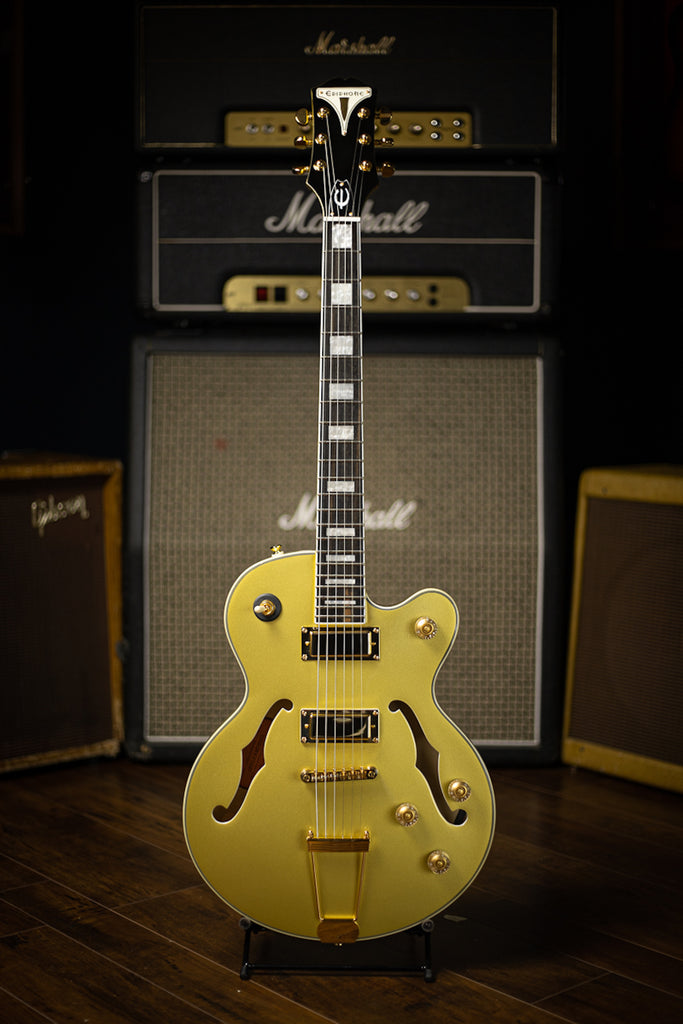 Epiphone Uptown Kat ES Electric Guitar - Topaz Gold Metallic