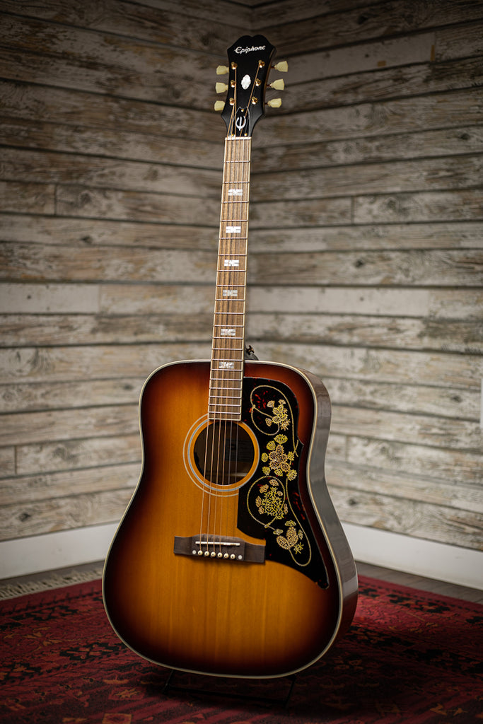 Epiphone Masterbilt Frontier Acoustic Electric Guitar - Iced Tea Aged Gloss