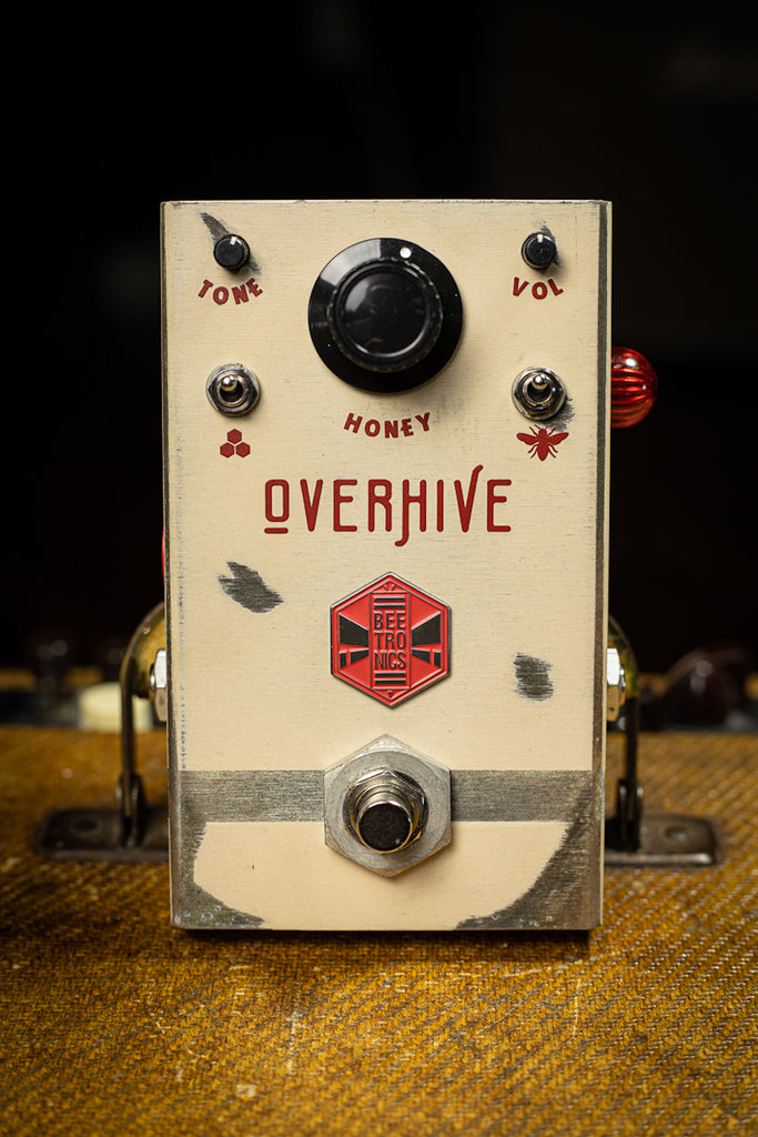 Beetronics Overhive Medium Gain Overdrive Pedal