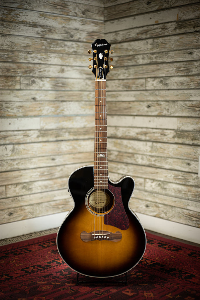 Epiphone EJ-200 Coupe Acoustic Electric Guitar - Vintage Sunburst