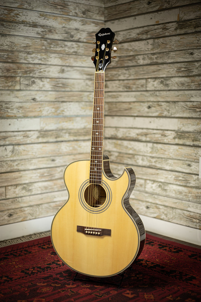 Epiphone PR-5E Acoustic Electric Guitar - Natural