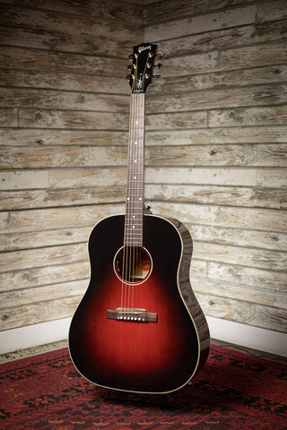 Gibson Slash J-45 Acoustic Guitar - Vermillion Burst