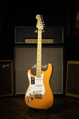 Fender Stratocaster Player Series Left Handed Electric Guitar - Capri Orange