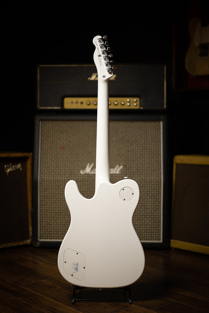 Fender Jim Adkins JA-90 Telecaster Thinline Electric Guitar -  Laurel Fingerboard White
