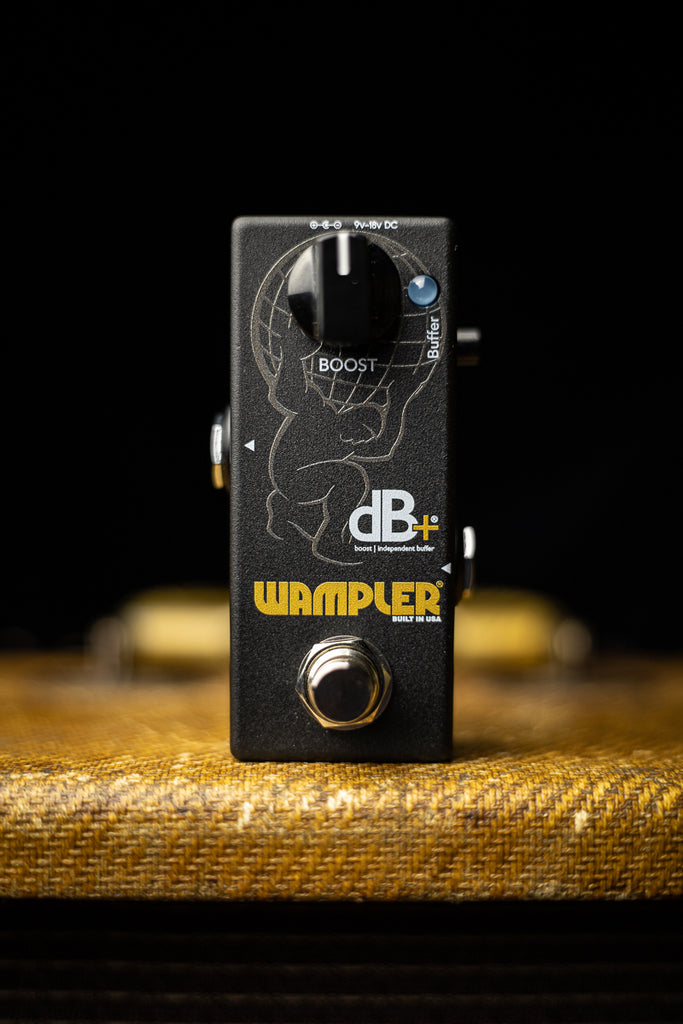 Wampler dB+ Boost and Independent Buffer Pedal