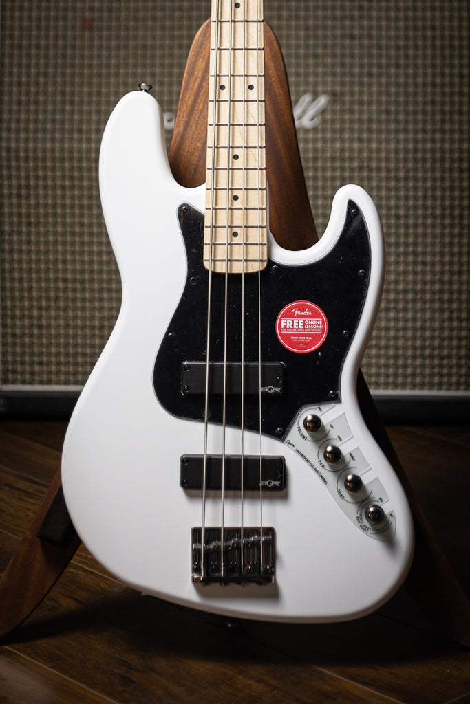 Squier Contemporary Active Jazz Bass - Flat White