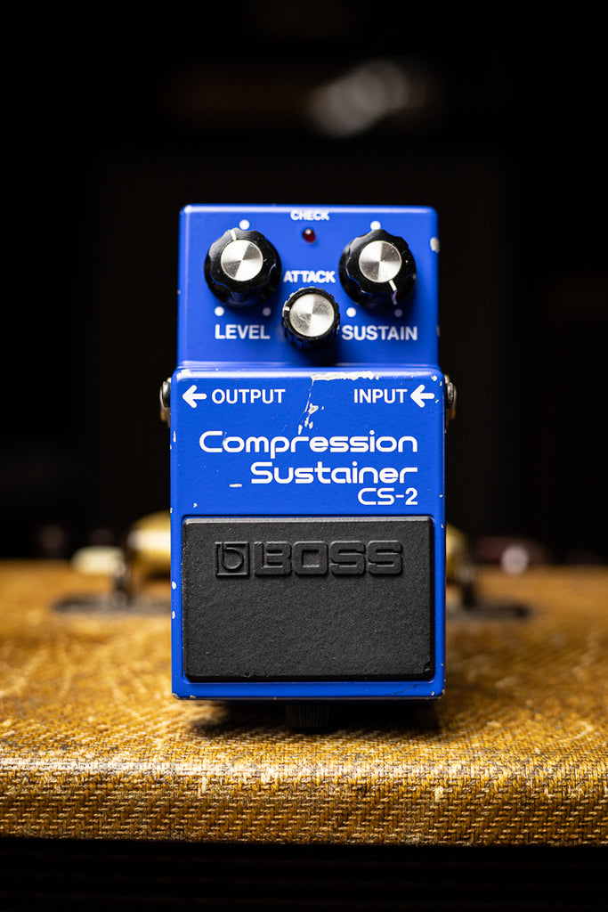Vintage BOSS CS-2 Compression Sustainer Pedal