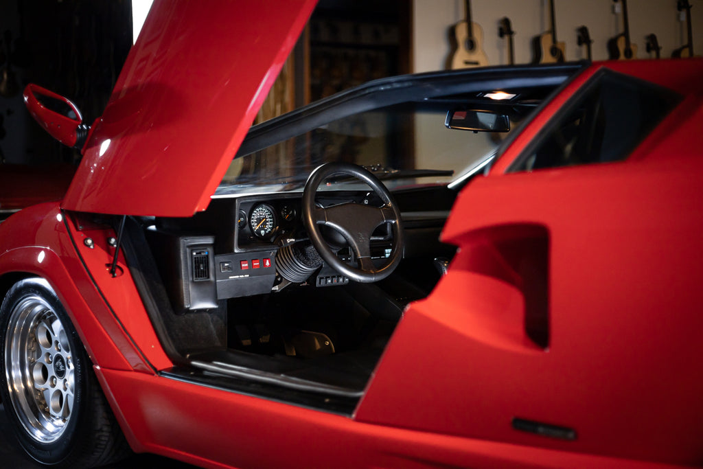 1989 Lamborghini Countach 25th Anniversary - Siviglia Red