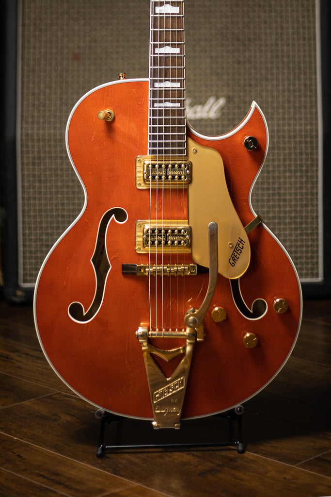 2001 Gretsch New Nashville 6120-N Electric Guitar - Orange