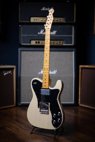 Fender American Original '70s Telecaster Custom Electric Guitar - Vintage Blonde