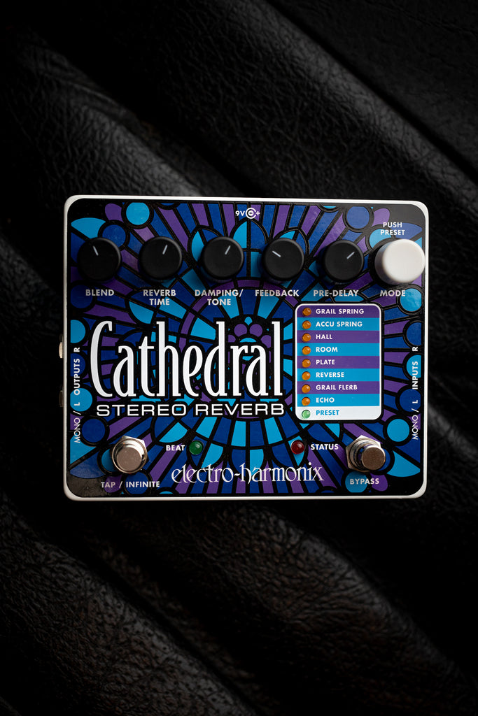 Electro-Harmonix Cathedral Reverb Pedal - Walt Grace Vintage