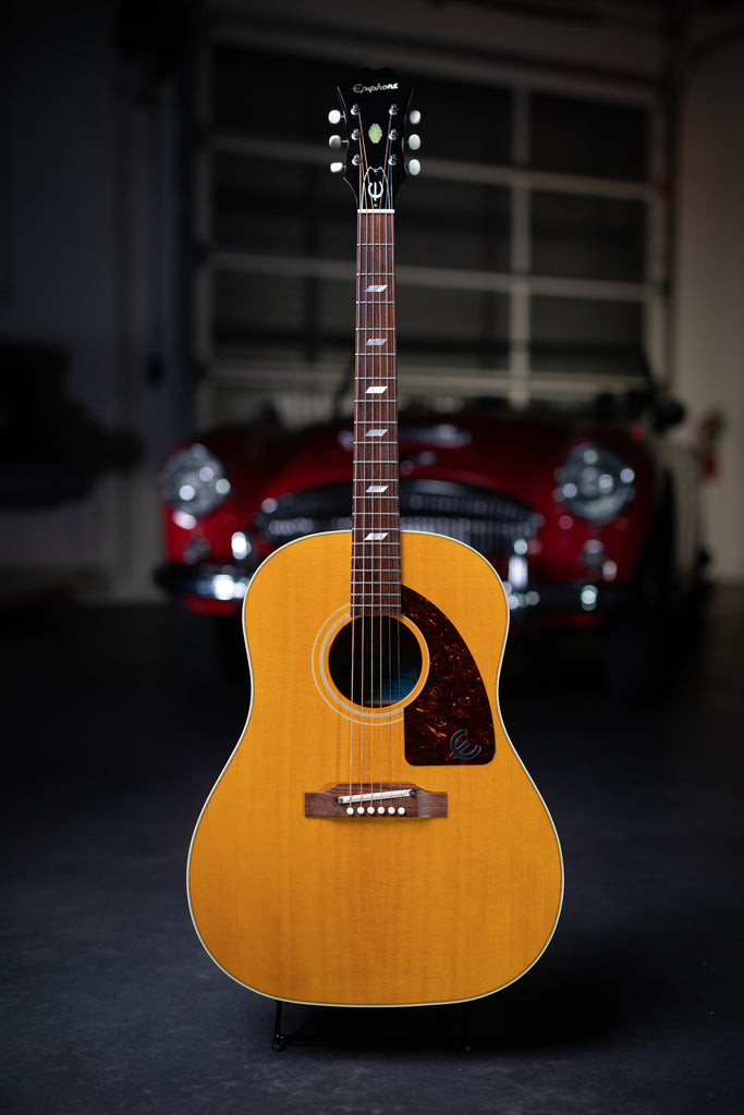2005 Epiphone Paul McCartney FT-79 Texan Ltd. Edition Elitist Acoustic Guitar - Vintage Tint - Walt Grace Vintage