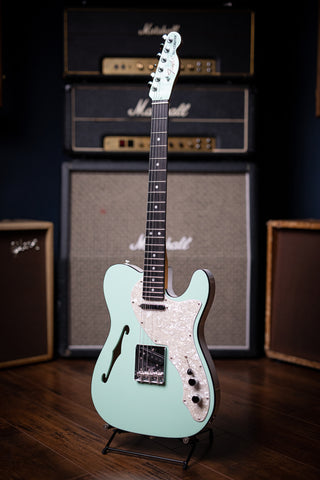 Fender Thinline Telecaster Limited Edition - 2-Tone Surf Green