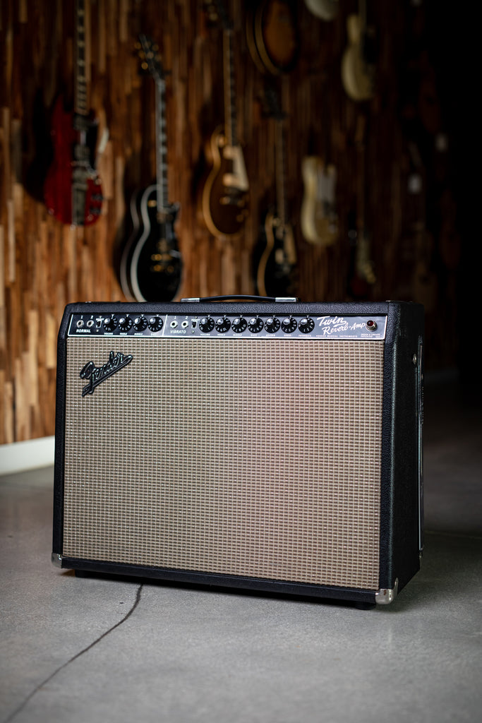 1965 Fender Twin Reverb - Black - Walt Grace Vintage
