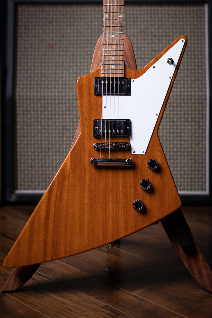 Gibson Explorer Antique Electric Guitar - Natural - Walt Grace Vintage