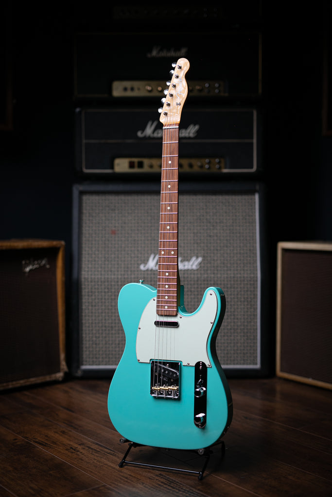 Fender Vintera '60s Telecaster Modified Electric Guitar - Sea Foam Green - Walt Grace Vintage