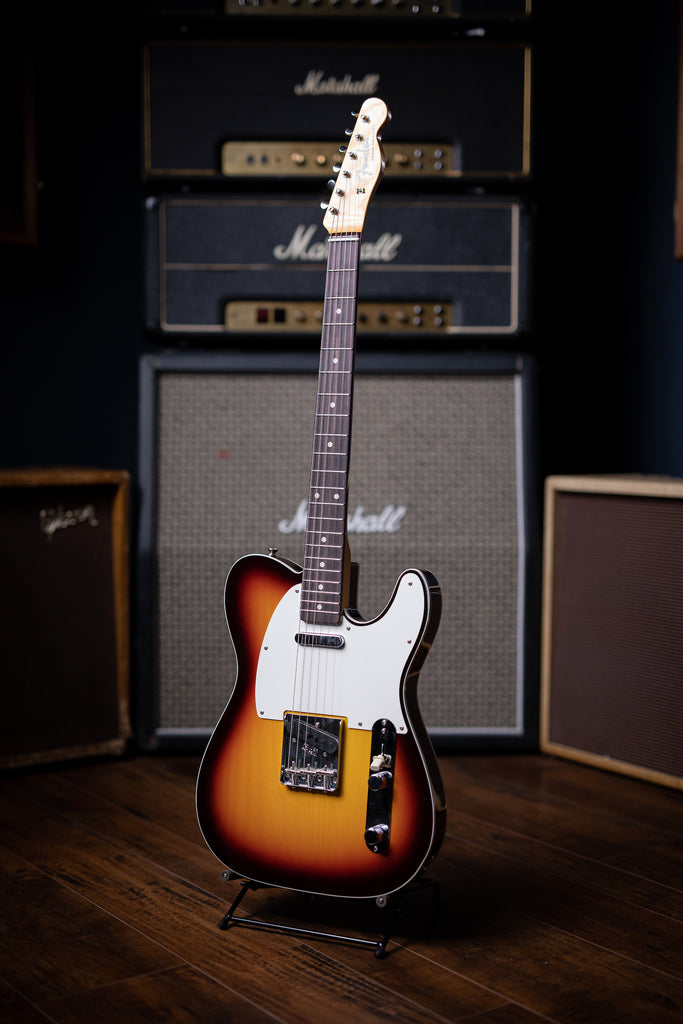 Fender Custom Shop 1959 Telecaster Custom Electric Guitar - Sunburst - Walt Grace Vintage