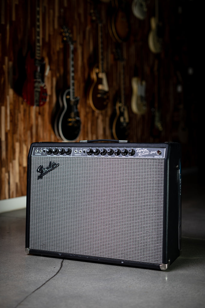 Used Fender Twin Reverb Reissue - Black - Walt Grace Vintage
