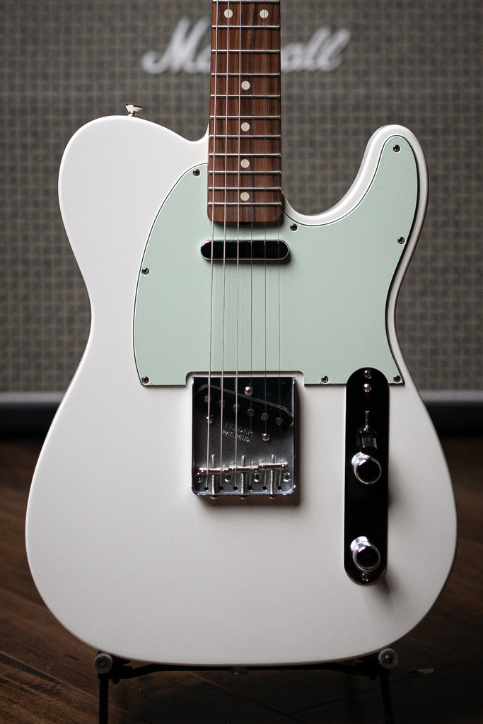 Fender Classic Player '60s Telecaster Electric Guitar - Olympic White - Walt Grace Vintage