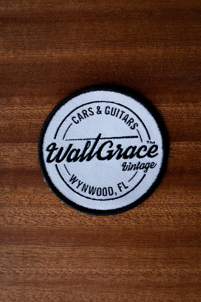 Walt Grace Vintage Iron-On Patch - Walt Grace Vintage