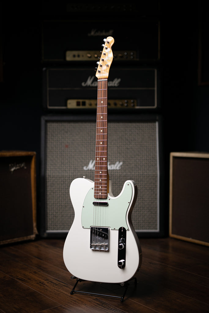 Fender Classic Player '60s Telecaster - Olympic White - Walt Grace Vintage