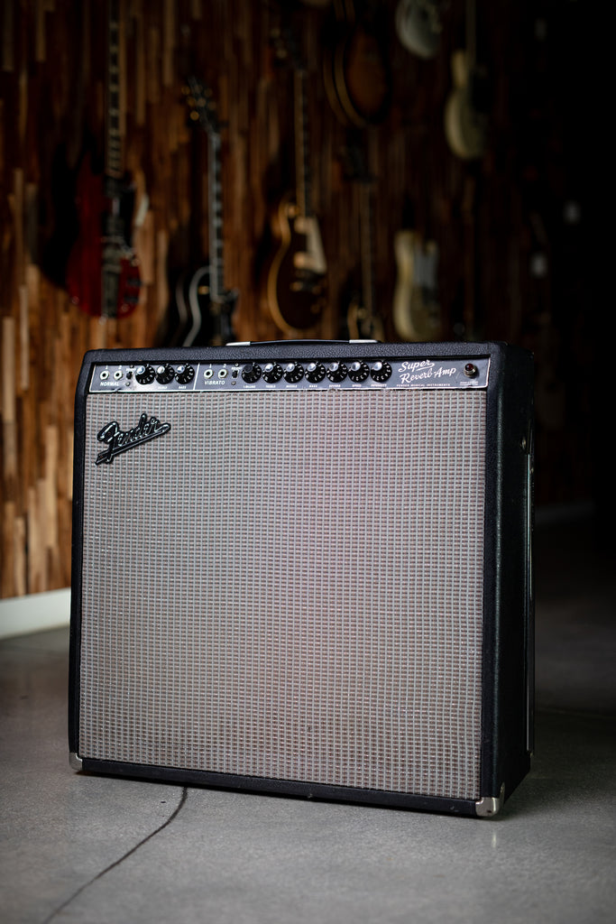 1965 Fender Super Reverb - Black - Walt Grace Vintage