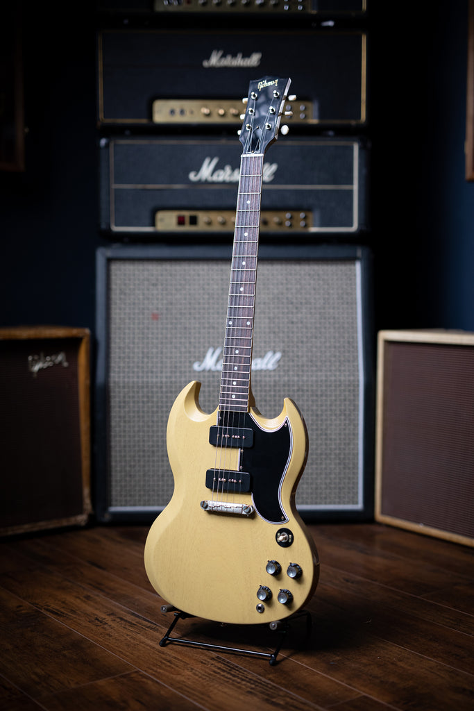 Gibson Custom Shop '63 SG Special Reissue VOS - TV Yellow - Walt Grace Vintage