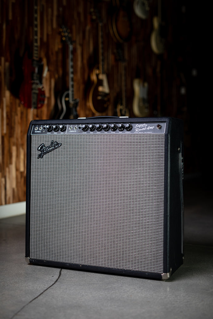 2007 Fender Super Reverb '65 Reissue - Black - Walt Grace Vintage