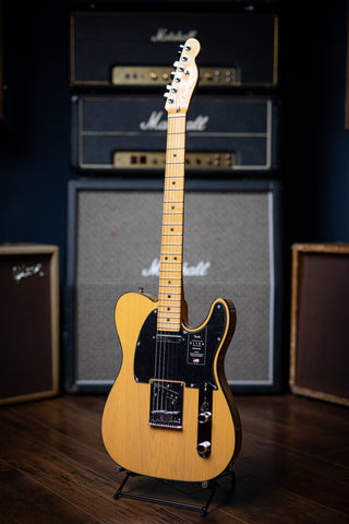 Fender American Ultra Telecaster Electric Guitar - Butterscotch Blonde