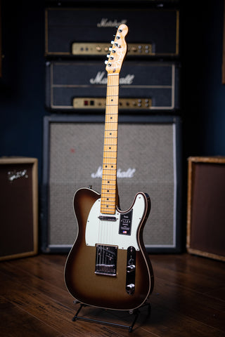 Fender American Ultra Telecaster Electric Guitar - Mocha Burst