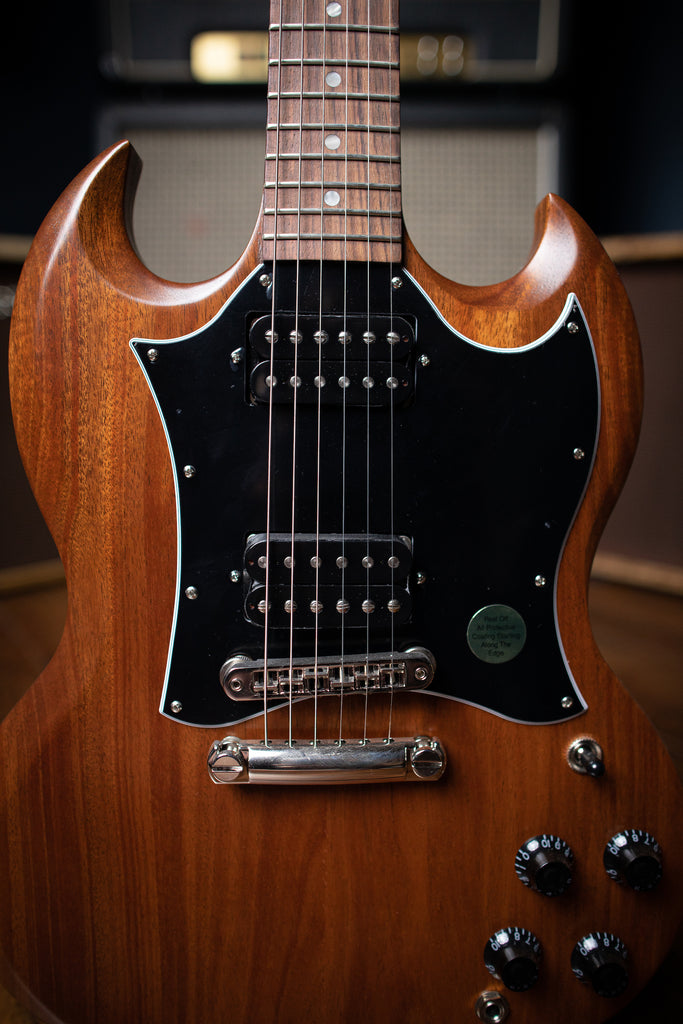 Gibson SG Tribute Electric Guitar - Natural Walnut - Walt Grace Vintage