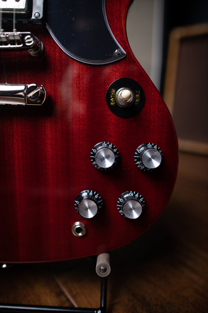 Epiphone SG Standard 61 Electric Guitar - Cherry Red - Walt Grace Vintage