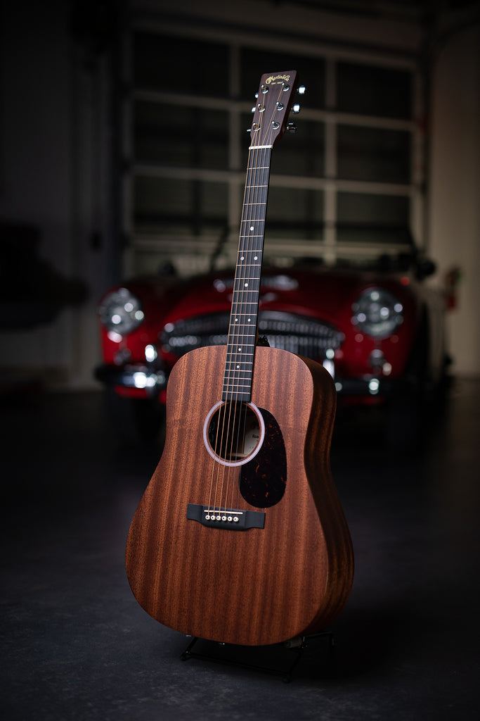 Martin D-10E Road Series - Natural Sapele - Walt Grace Vintage