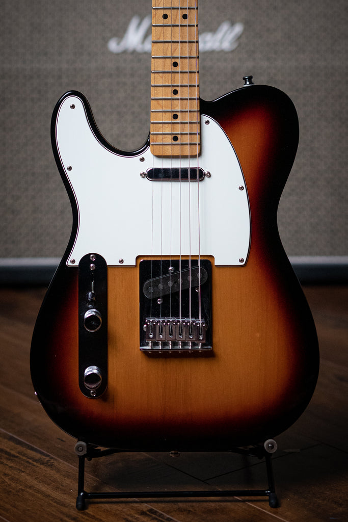 2015 Fender Telecaster LH Electric Guitar - Sunburst - Walt Grace Vintage