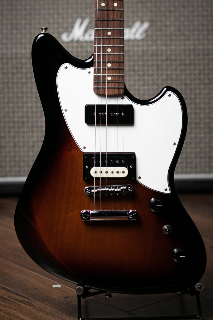 Fender Alternate Reality Powercaster Electric Guitar - 3-Tone Sunburst - Walt Grace Vintage