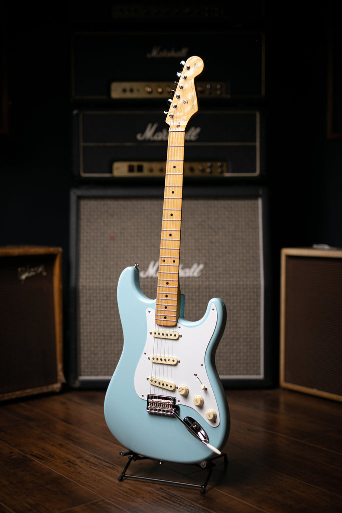 Fender Vintera '50s Strat Modified Electric Guitar - Daphne Blue - Walt Grace Vintage
