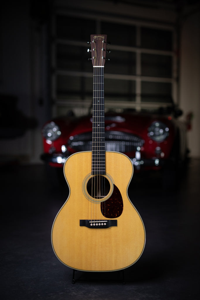 Martin OM-28 Acoustic Guitar - Natural - Walt Grace Vintage