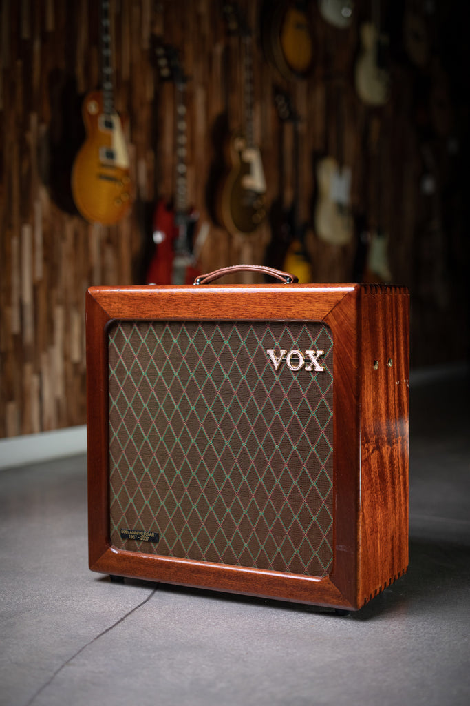 Vox AC15H1TVL 50th Anniversary Hand Wired Combo Amp - Natural - Walt Grace Vintage