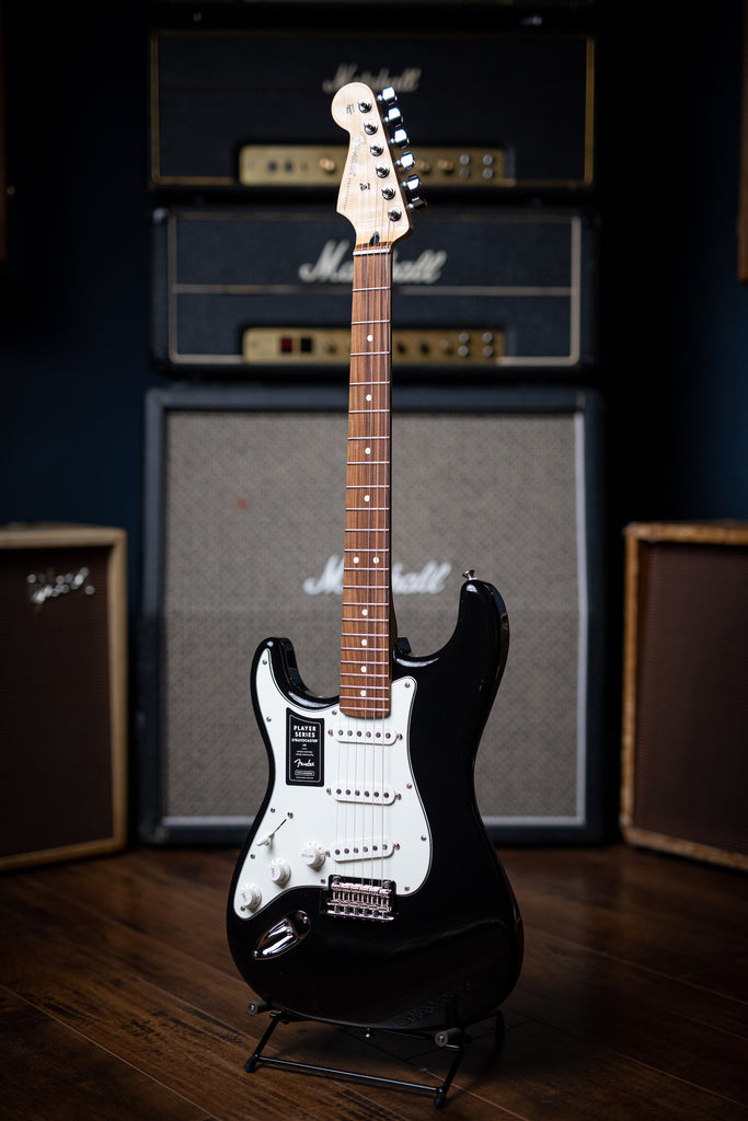 Fender Player Stratocaster LH - Black - Walt Grace Vintage