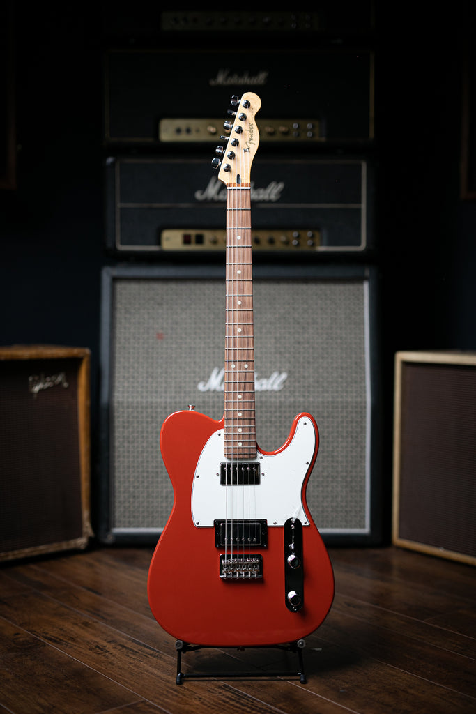 Fender Player Series Telecaster HH Electric Guitar - Sonic Red - Walt Grace Vintage