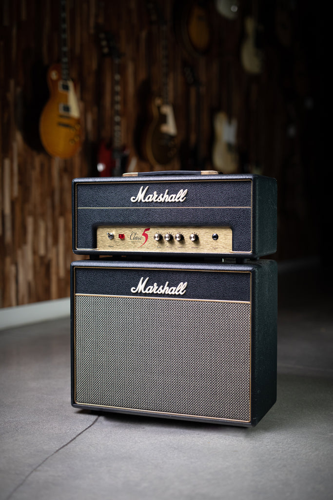 2011 Marshall Class 5 Head and Cabinet - Black - Walt Grace Vintage