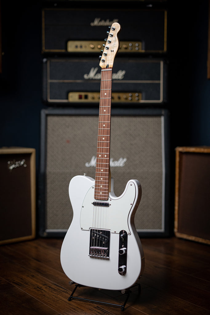 Fender Player Series Telecaster Electric Guitar - Polar White - Walt Grace Vintage