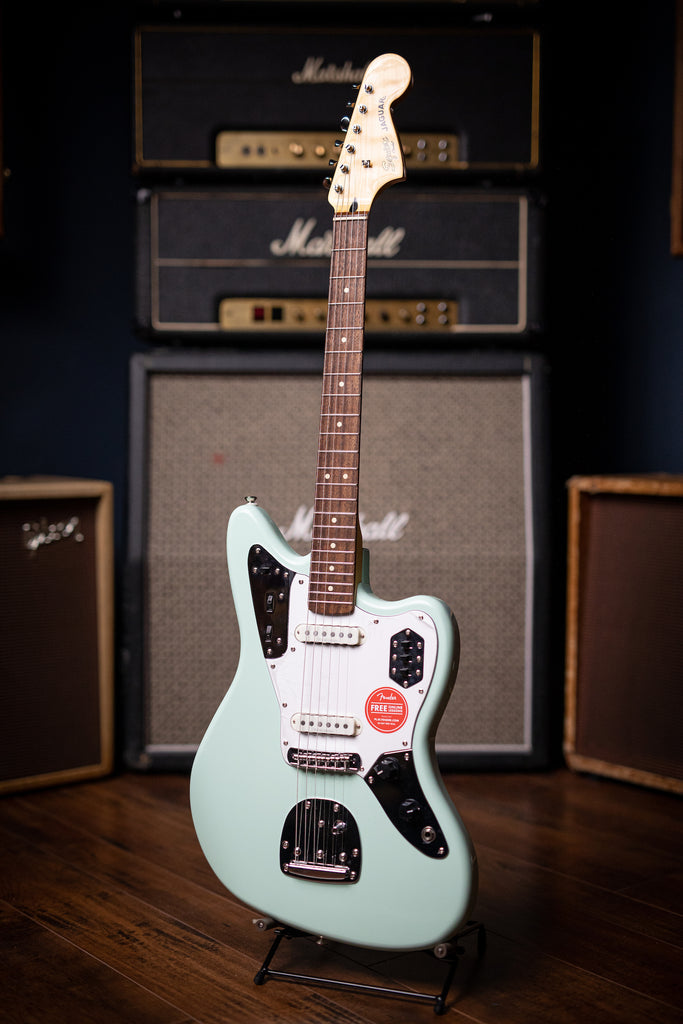 Squier Vintage Modified Jaguar Electric Guitar - Seafoam Green - Walt Grace Vintage